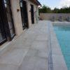 Poolsarg i 2 cm granitkeramik