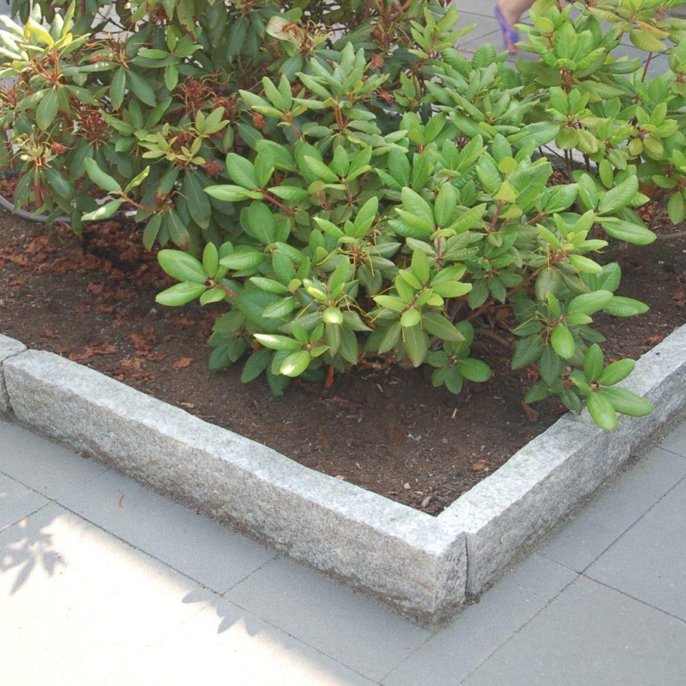 Granitkantsten för stabila kantstöd
