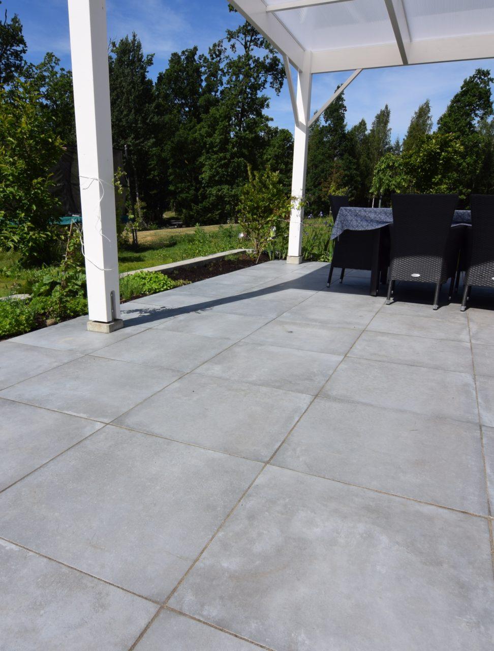 Granitkeramik - 2cm utomhusklinker hos Betong&Marmor Malmö