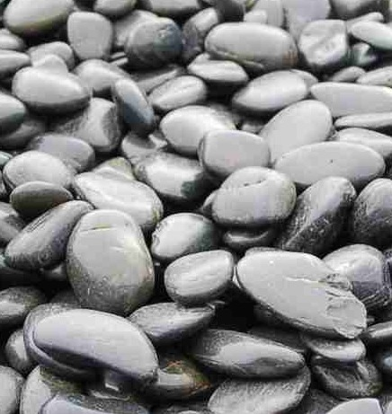 Pebbles är en slät och blank dekorsten